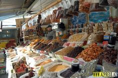 Teze Bazar- A popular market in Baku. The market traders will slice, chop and peel any of their produce and thrust it into passing customers' hands, pleading with them to stop and taste out-of-this-world food.