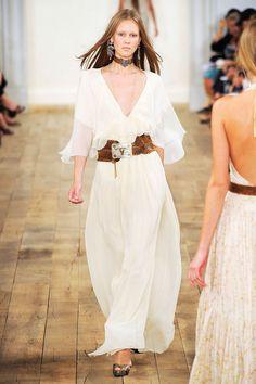 nwt ralph lauren runway collection silk maxi (gown) stunning 2011 spring runway #ralphlaurenrunwaycollection #Gownmaxi