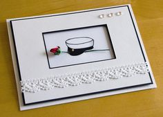 Elegant card for graduates
