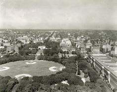 Northern View of the District of Columbia from the Washington Monument - A. D. White Architectural Photographs, Cornell University Library