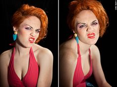 BE SILLY: DISNEY VILLIANS, Madame Medusa make-up and costume