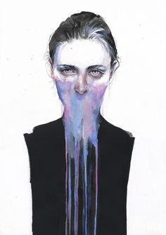 Agnes- Cecile's my opinion about you Art Print