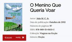 João MC.jr arte e vida: Trecho do livro O MENINO que QUERIA VOAR.