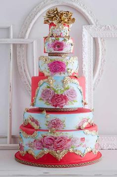 What a spectacular cake!