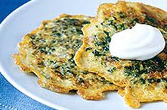 We know you love breakfast pancakes, but have you tried savoury pancakes? These Spinach Pancakes are made with spinach, eggs and cheese for a tasty twist on a breakfast favourite.