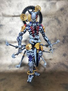 Lego Robot, Lego War, Lego Toys, Lego Mechs, Lego Bionicle, Legos, Character Inspiration, Character Design, Lego Sculptures