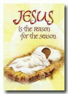 Jesus is the reason Christmas Nativity, Christmas Clipart, Vintage Christmas Cards, Xmas Cards, Christmas Art, Christmas Greetings, All Things Christmas, Christmas Holidays, Christmas Sentiments