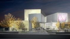 STEVEN HOLL ARCHITECTS - INSTITUTE FOR CONTEMPORARY ART, VIRGINIA COMMONWEALTH UNIVERSITY