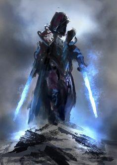 Random Fantasy/RPG artwork I find interesting,(*NOT MINE) from Tolkien to D&D. Fantasy Character Design, Character Concept, Character Art, Concept Art, Fantasy Armor, Medieval Fantasy, Dark Fantasy, Fantasy Art Warrior, Paladin