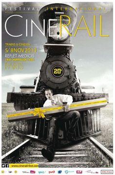 Festival CinéRail du 5 au 8 novembre au cinéma Reflet Médicis