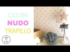 COJIN NUDO DE TRAPILLO A CROCHET FÁCIL / Knit and Love