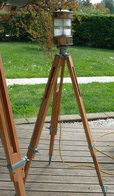 lampade_moderne_lampadari_moderni_Upcycling_riciclo creativo_ecodesign_vintage_treppiedi_balon lamps_torino_italy__