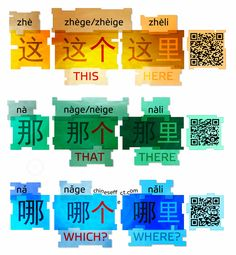 """chineseffect: """" Chinese is simple and BEAUTIFUL! In QR codes you will find audio with a pronounciation. """""""
