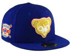 Chicago Cubs New Era MLB Exclusive Gold Patch 59FIFTY Cap dd5fa2791f3