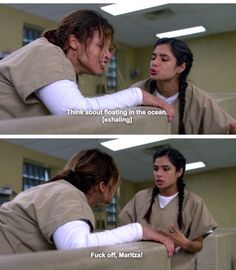 Daya and Maritza. Orange is the New Black Season 3