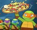 Em TMNT – Pizza Like a Turtle Do, todos nós sabemos que as Tartarugas Ninja amam comer pizza. E depois de um dia de muita luta e batalha o que eles mais querem é saborear uma deliciosa pizza. Seja rápido, nosso herói estão com muita fome. Divirta-se com as Tartarugas Ninjas!