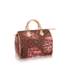 The Louis Vuitton Monogram Jungle Speedy is refreshing & fun. The Speedy 30 combines the iconic Monogram with a light & feminine print. Wild and cool, it is perfect for a trendy and bright Mother's Day gift.