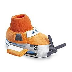 Disney Store Planes Fire /& Rescue Boys Soft Slippers Shoes Size 7//8 9//10 11//12