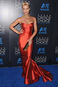 Jaime Pressly at the Critics' Choice TV Awards at The Beverly Hilton Hotel on May 31, 2015 in Beverly Hills, California.