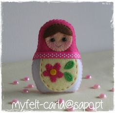 Felt Matrioshka Doll
