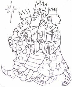 Wise men / wijzen uit het oosten / los tres reyes Magos de oriente #chiquiespacio