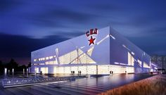 "SKA ice hockey team gets a new practice and play arena that is awarded the silver diploma of ""The Golden Capital 2014"" architectural rating, whilst still in the making. Read here… http://globalhop.indiaartndesign.com/2014/08/ska-sports-complex-russia.html"