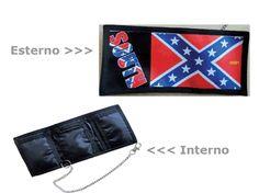 #Portafoglio con catena H.K. PROJECT V9SPORT #Bandiera #nazionale