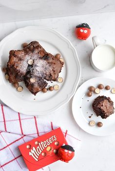 Double yum! Make these Malterser Brownies, created for us by Uptown Style, for your Red Nose Day bake sale. Hopefully you'll have some left to sell once you've tried one (or five)!