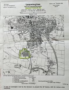 German Map Leamington Spa