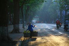 Autumn season in Hanoi