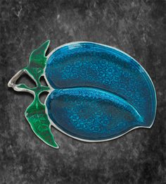 Platter - Embossed Mango (2 Partition) http://www.thedivineluxury.com/product/Platter-Embossed-Mango-2-Partition.html Blue color is defined as a signature of royalty and glory.