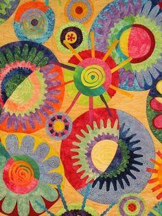 Quilt... Cinda's Circles by Karen Pharr