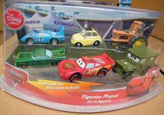 Disney Pixar Cars Movie Figure Figurine Set Playset with Lightning McQueen and More! by WDWDisney. $37.99. Do not miss out on all of this fun exclusive Disney Pixar Cars Movie set!