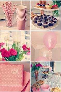 pink afternoon tea party