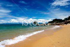 Seascape, Split Apple Rock Beach, New Zealand Royalty Free Stock Photo Abel Tasman National Park, New Zealand Beach, Seaside Towns, Beach Fun, Image Now, Beautiful Beaches, National Parks, Royalty Free Stock Photos, Apple
