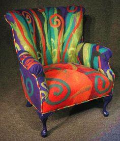 fauteuil en feutre