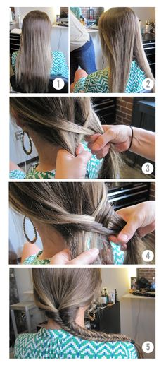 How to: Fishtail Braid in 5 easy steps