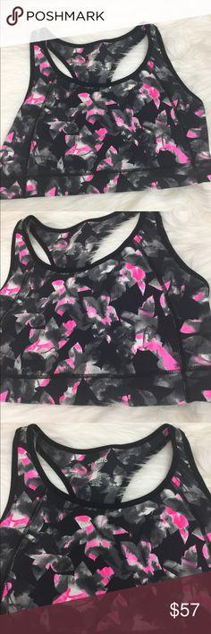TORRID Active Black Pink Floral Sports Bra Size 1 TORRID Active Black Pink Floral Sports Bra Size 1 Excellent New Condition! torrid Intimates & Sleepwear Bras