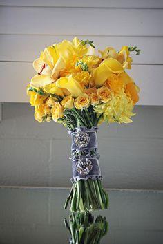 sunshine yellow bouquet