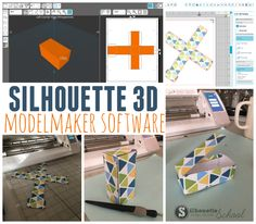 Silhouette ModelMaker: Design 3D Shapes and Export as SVG with New Software