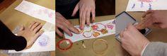 Catalogare - Laboratori Metodo Bruno Munari® Lab, Playing Cards, School, Costumes, Playing Card Games, Labs, Labradors, Game Cards, Playing Card