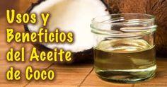 Los beneficios del aceite de coco son impresionante, aquí también le hablo de los usos del aceite del coco de los cuales podría no estar enterado. http://espanol.mercola.com/boletin-de-salud/usos-del-aceite-de-coco.aspx