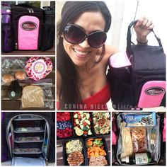Clean Eating & Flexible Dieting: staying on track while traveling! I love love love my IsoBag! Info and coupon code on Instagram | corinanielsen.