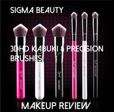 I'll be the first to admit it, I was cracking up when I first saw the Sigma 3DHDKabuki & PrecisionBrushesand I was hoping that I would get it as a PR sample so that I could test it out and g...