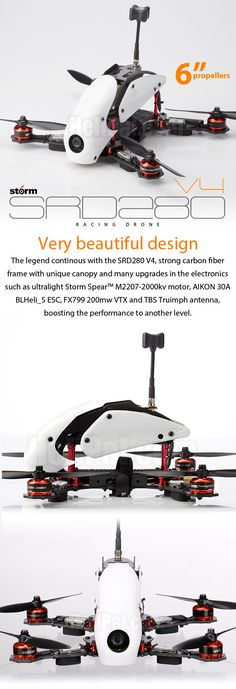 STORM Racing Drone (RTF / SRD280 V4) - HeliPal
