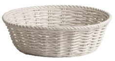 Through a creative process moving away from the more familiar disposable products to more refined objects made from durable and better quality materials Seletti Bread Bin, White Porcelain, Kitchenware, Dinnerware, Modern Furniture, Wicker, Tin, Objects, Basket