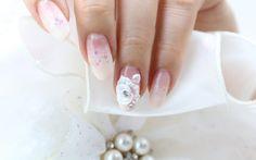 [미대의 네일컬렉션] 73화_엠보 웨딩네일아트/Wedding Nail Art/nailcollection by midae