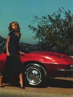#KateBock -- #Chevrolet -- #Corvette by #StevenChee