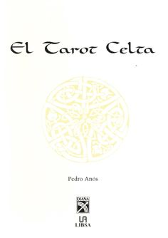 Tarot Celta, Manual, Textbook
