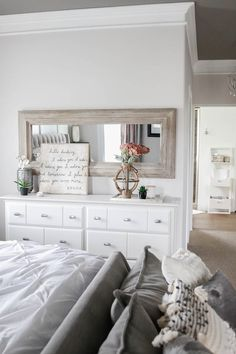 Updated Home Tour - House of Rose - Master Bedroom